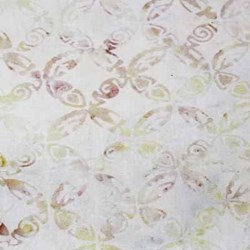 Anthology Hand Made Batik - Light Pink Print