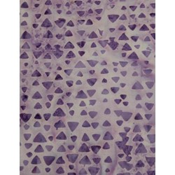 Anthology Hand Made Batik - Lavender Print