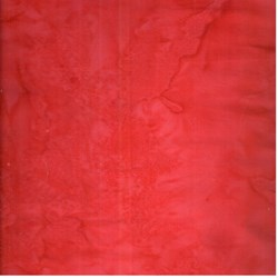 Anthology Chromatic Solid Batik - Christmas Red