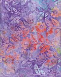Anthology Hand Made Batik - Purple-Fashion Rayon Collection