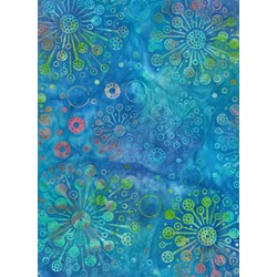 Anthology Jacqueline de Jonge Batik Print- Blue Pattern