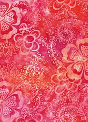 Anthology Hand Made Batik - Spicy Pinks-Color Stories