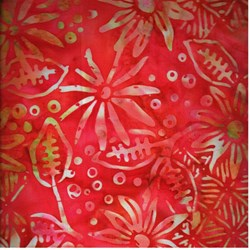 Anthology Hand Made Batik - Pink Flowers