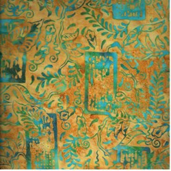 Anthology Hand Made Batik - Tan Print