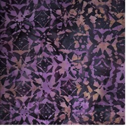 Anthology Hand Made Batik -Dark Purple Print