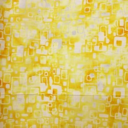 Anthology Hand Made Batik - Yellow Geometric