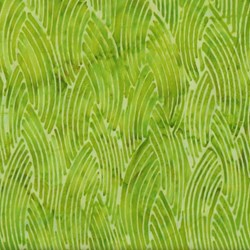 Anthology Batiks - The Plains People of Turtle Island - Rainbow Skies Lime