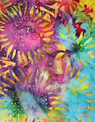 "End of Bolt - 37"" - - Anthology- Be Colourful- Sunflowers"