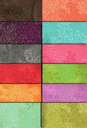 "Art Gallery Fabrics Nature Elements - Brights 12"" Pastry Roll™"