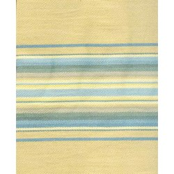 Blackbird Designs Moda Twill - Fat Quarter -Aunt Luci's cottage - Large Tan Stripe