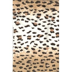 "10"" x 36"" Remnant - Baby Leopard - Minky"
