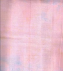 "End of Bolt - 150"" - - Island Batik - Pink w/ Blue Mottled"
