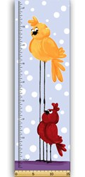 "Bird - 14"" Growth Chart - by The World of Susybee"