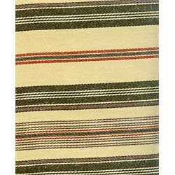 Barbara Brackman Moda Twill - Fat Quarter -Conestoga Calico - Tan/Black with Red