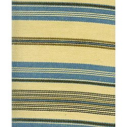 Barbara Brackman Moda Twill - Fat Quarter -Conestoga Calico - Tan/Blue with Black