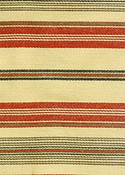 Barbara Brackman Moda Twill - Fat Quarter -Conestoga Calico - Tan/Red with Black