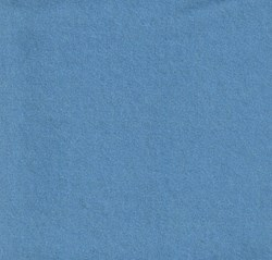 "26"" x 36"""" Remnant - Wool  -Cornflower Blue<br>by Moda"