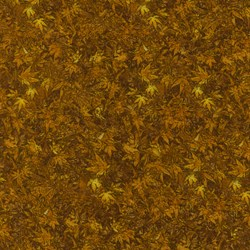 Danscapes - Leaf Gold - by Dan Morris for RJR Fabrics