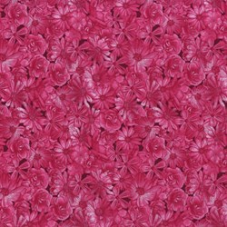 Danscapes - Spring Symphony Dark Pink - by Dan Morris for RJR Fabrics