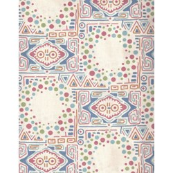 Multi Color Pattern - Lady Sybil - Downton Abbey Collection by Andover Fabrics