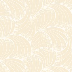 "22"" Remnant - Cream Fan Print - Womens Collection - Downton Abbey by Andover Fabrics"