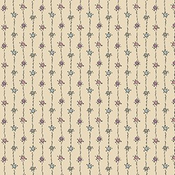 Natural Multi Color Pattern Print - Womens Collection - Downton Abbey by Andover Fabrics