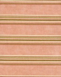 Vintage Robyn Pandolph - Fat Quarter - Folk Art Christmas III Stripe Rose