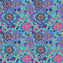 Soul Mate - Inner Vision - Marine - by Amy Butler for Free Spirit Fabrics