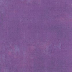 "End of Bolt - 46"" - Grunge Basics - Grape - by Basic Grey for MODA"