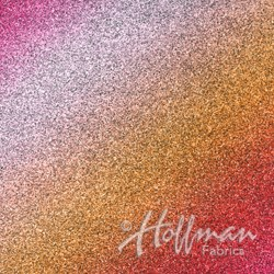 A Hoffman Spectrum Priint - Shine On - Sunset