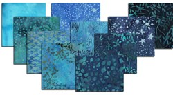 Hoffman Winter Blues Batik Fat Quarter Bundle