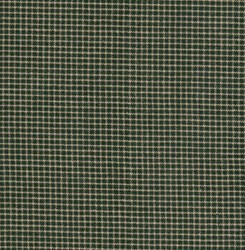 Homespun Fabric <br>Mini Green/Tan Check