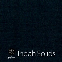 Me + You Indah Solids - Midnight- By Hoffman Fabrics