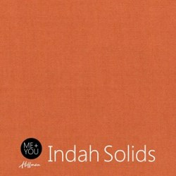 Me + You Indah Solids - Terra Cotta - By Hoffman Fabrics