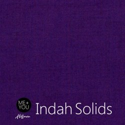 Me + You Indah Solids - Violet- By Hoffman Fabrics