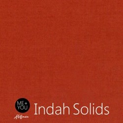 Me + You Indah Solids - Burnt Sienna - By Hoffman Fabrics
