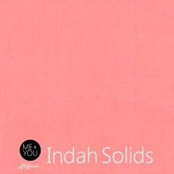 Me + You Indah Solids - Ballet Pink - By Hoffman Fabrics