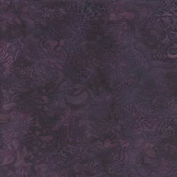Island Batik Red Tide - Purple