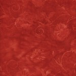 Island Batik - Equinox - Red Leaves