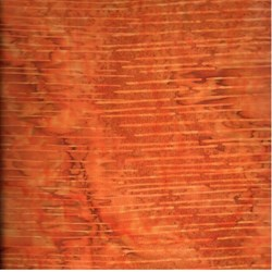 "88"" End of Bolt Piece - Island Batik - Equinox - Dark Orange"