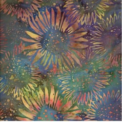 Island Batik- Multi Color SunFlowers