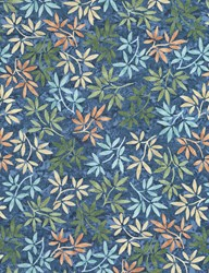 "15"" Remnant - Tranquility Fabric Collection  -  JT-C6055-Pacific by Timeless Treasures"