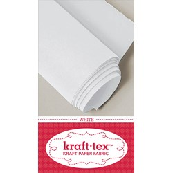 Kraft•tex™ in White - Check Out All the Colors!  Plus - Receive 6 Free Pattern Downloads from CT Pub with Purchase!