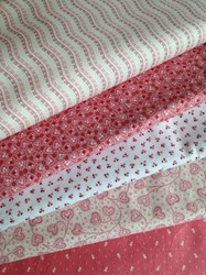 Little Sweethearts Fat Quarter Bundle - Old Bright Pink Collection