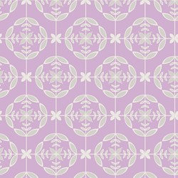 Love Laugh Quilt - Purple Medallions