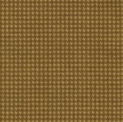 "End of Bolt - 43"" - Woolies Flannel - Gold Tiny Houndstooth - by Maywood Studios"