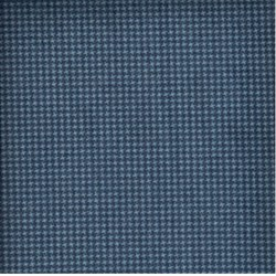 Woolies Flannel - Dark Blue Mini Houndstooth - by Maywood Studios