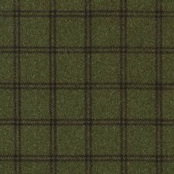 "24"" Remnant - Woolies Flannel - Dark Green Plaid - by Maywood Studios"