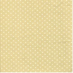 Green Polka Dots- Bunny Love Woolies Cotton Flannel