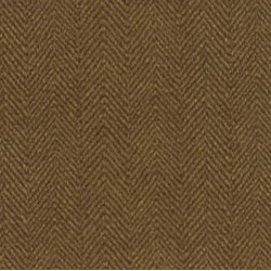 Woolies Flannel - Brown Herringbone - by Maywood Studios